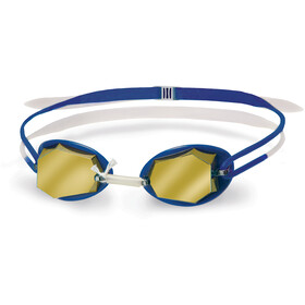 Head Diamond Mirrored Goggles white-blue-blue